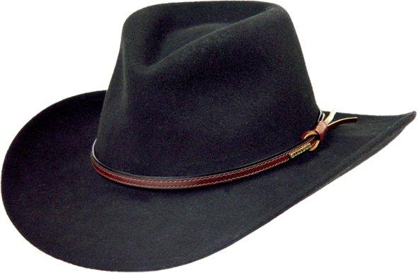 Stetson Bozeman Hat Black