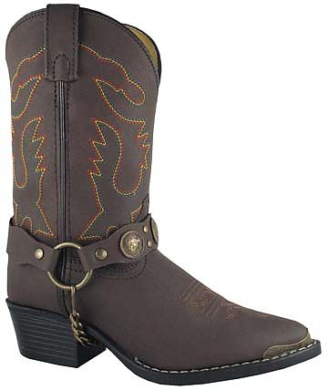 Smoky Boots Childrens Concho Boot