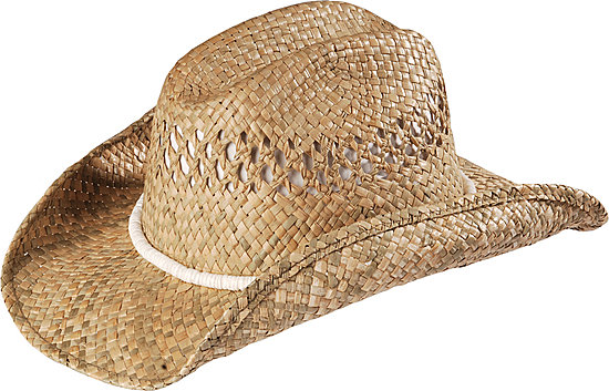 Kenny Chesney puka shell band straw cowboy hat