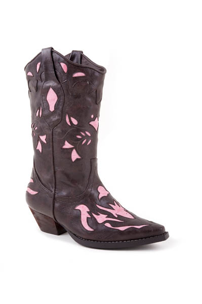 Toddler's Roper Brown Faux Fashion Boot