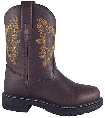 Smoky Boots Childrens Brahma Cowboy Boot