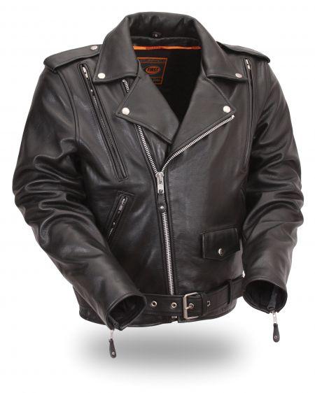Classic Vented M/C Jacket