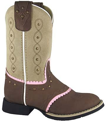 Girls Leather Cowboy Boot Ruby Belle