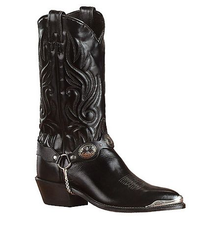mens black cowboy boots outback leather