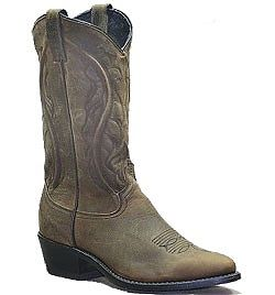 Mens Sage Olive Brown Western Cowboy Boot