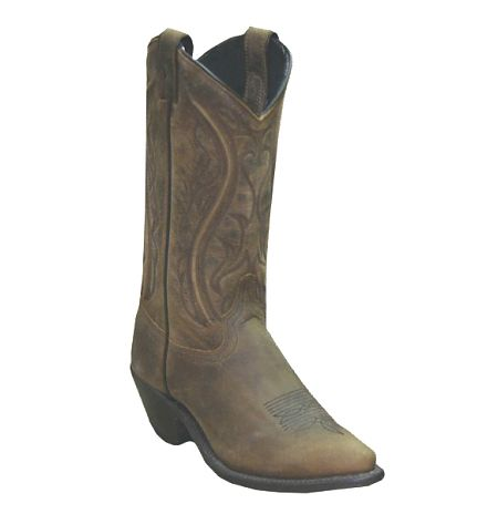 Womens Sage Western Brown Boots