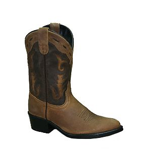 Women's Sage Tan Distressed Cowhide Boot