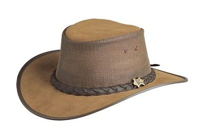Cool As A Breeze Rough Out Bark Suede BC Hat