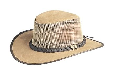 Cool As A Breeze Rough Out Beige Suede BC Hat