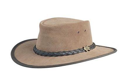 Bushwalker Rough Out Moose Leather BC Hat