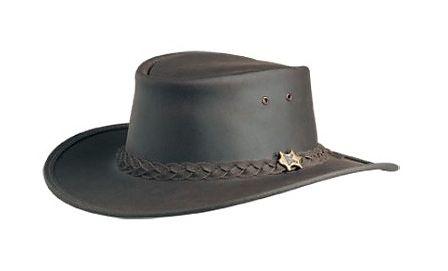 Bushwalker Smooth Brown Oily BC Hat