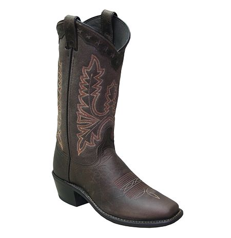 Womens Abilene Chocolate Western Boots