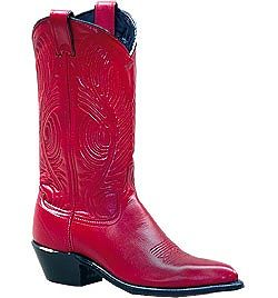 Women's Abilene Red Polished Cowhide Boot