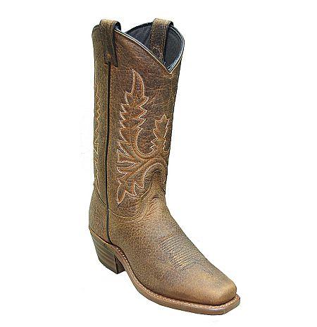 Women's Abilene Bison Tan Cowboy Boot