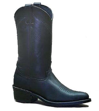Mens Abilene Black Work Western Boots