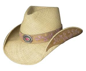 Bullhide Because of You Straw Hat
