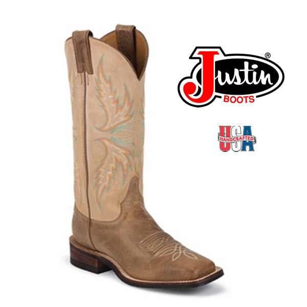 Women's Justin Bent Rail ARIZONA MOCHA BRL338
