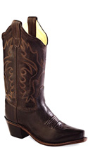 Old West Chocolate Cowboy Boot