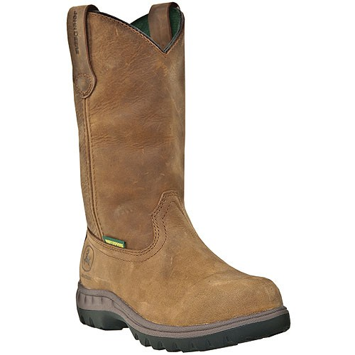 Womens John Deere Steel Toe Waterproof Pull-On