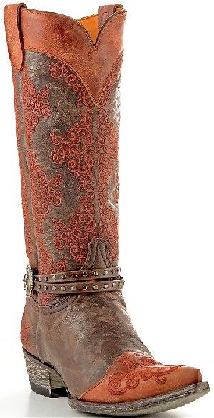 Womens Old Gringo Boots Inese Chocolate