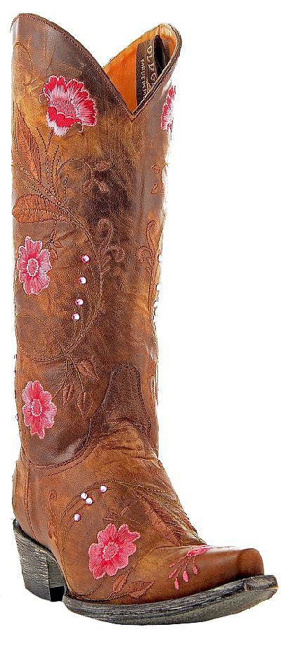 Womens Old Gringo Boots Julie Brass