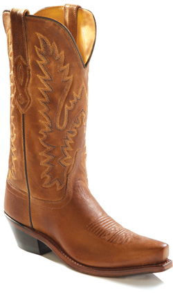 Old West Brown/Tan Womans Boot