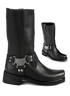 Milwaukee Motorcycle Boots Classic Harness
