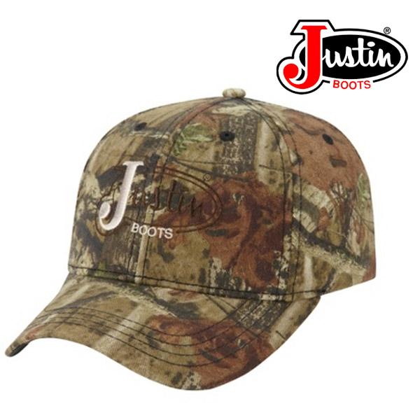 Justin Boots ALL OVER MOSSY OAK CAMO Cap PDG73977