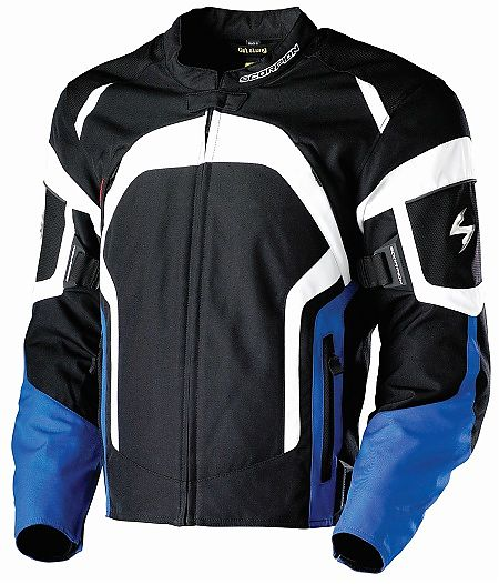 Scorpion Motorcycle Jacket Tornado Blue