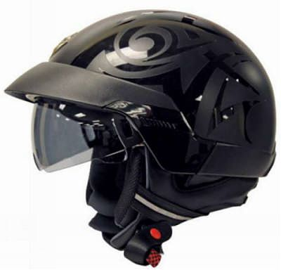 Scorpion EXO-100 Helmet Tribal Black