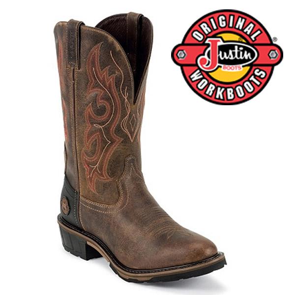 Men's Justin Boots Original RUGGED UTAH WATERPROOF WK4628