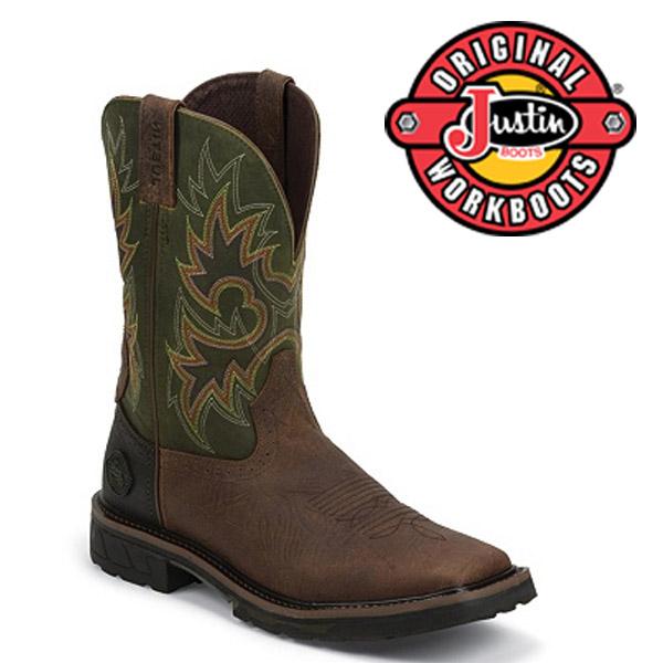 Men's Justin Boots Original RUSTIC BARNWOOD WK4942