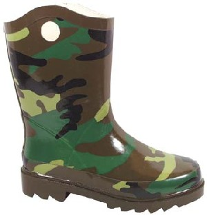 Smoky Boots Childrens Camo Rain Boot