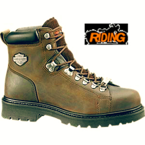 Harley Davidson Dipstick Boot Brown