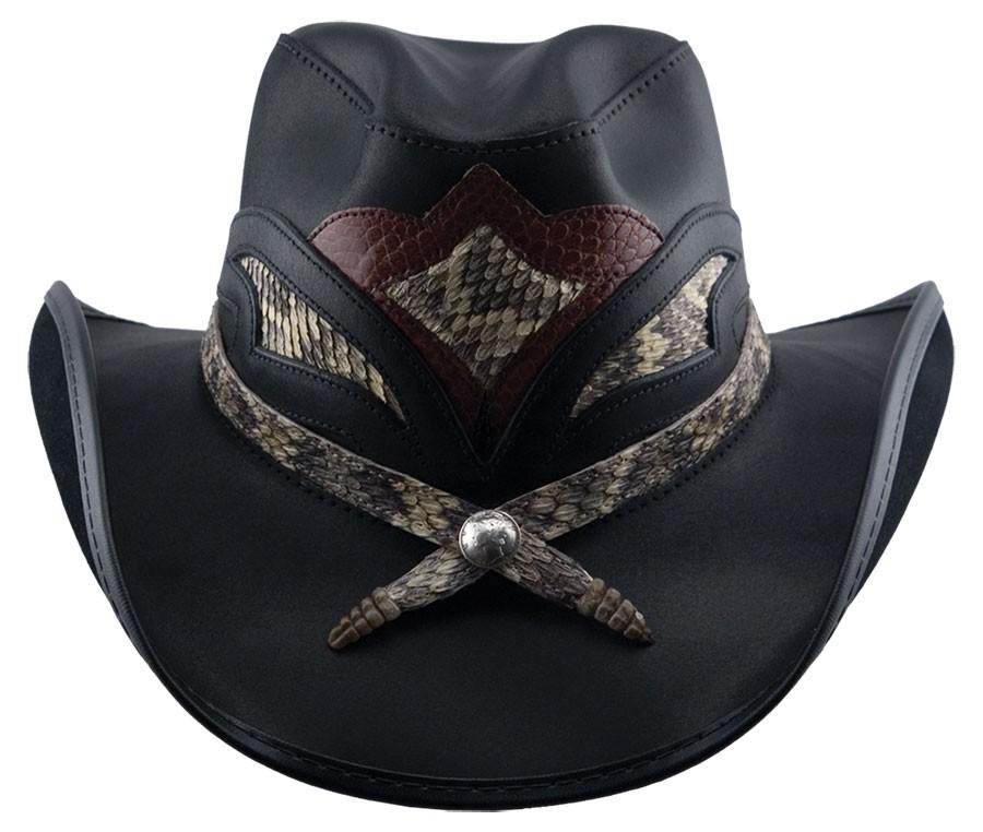 Storm Leather Hat