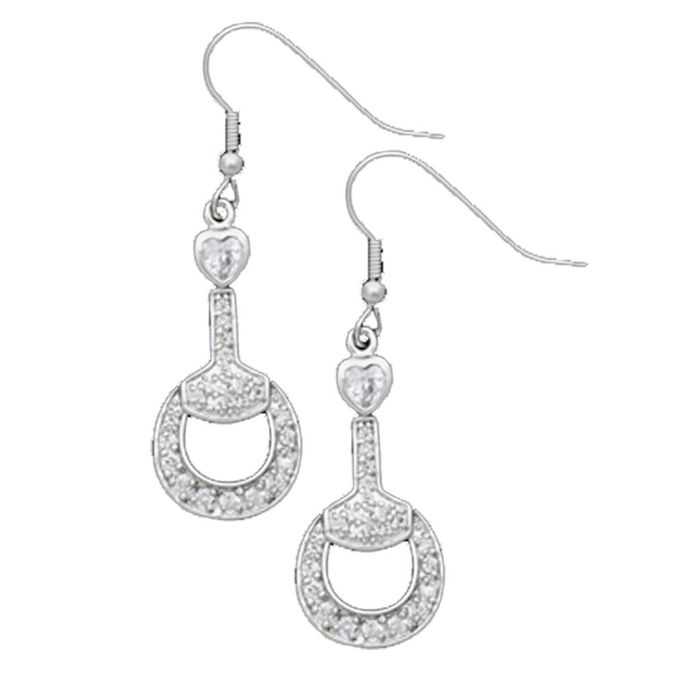 Vintage Charm Little Bits of Love Earrings (ER1327CZ)