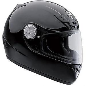 Scorpion EXO-400 Full Face Helmet in Black