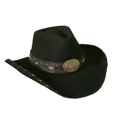 Proud Rebel Felt Hat