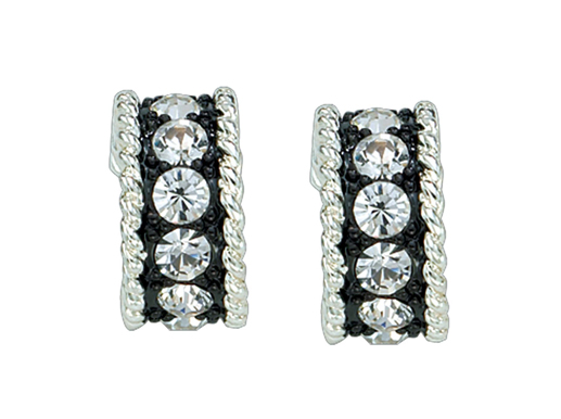 Crystal Shine Small Hoop Earrings (ER1032)