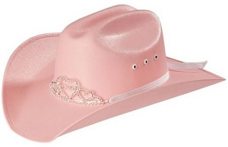 319dc55e7aa Pink Tiara Cowboy Hat - Outback Leather