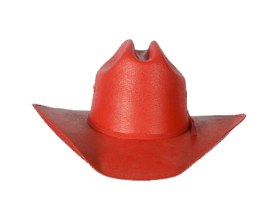 Kids Red Straw Hat