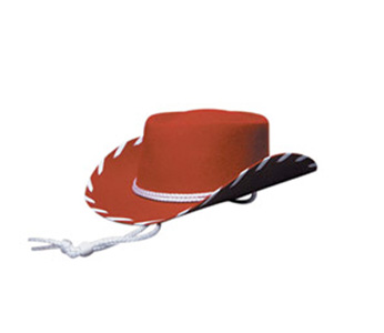 Kids Red Felt Hat Woody