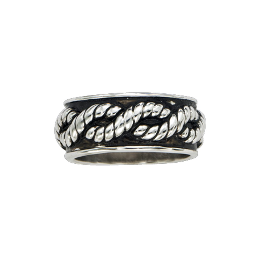 Braided Rope Band Ring (RG43)