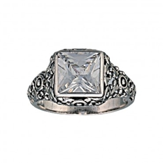 Mountain Princess Solitaire Ring (RG70CZ)