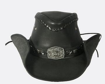 Bullhide Thunder Struck Leather Hat