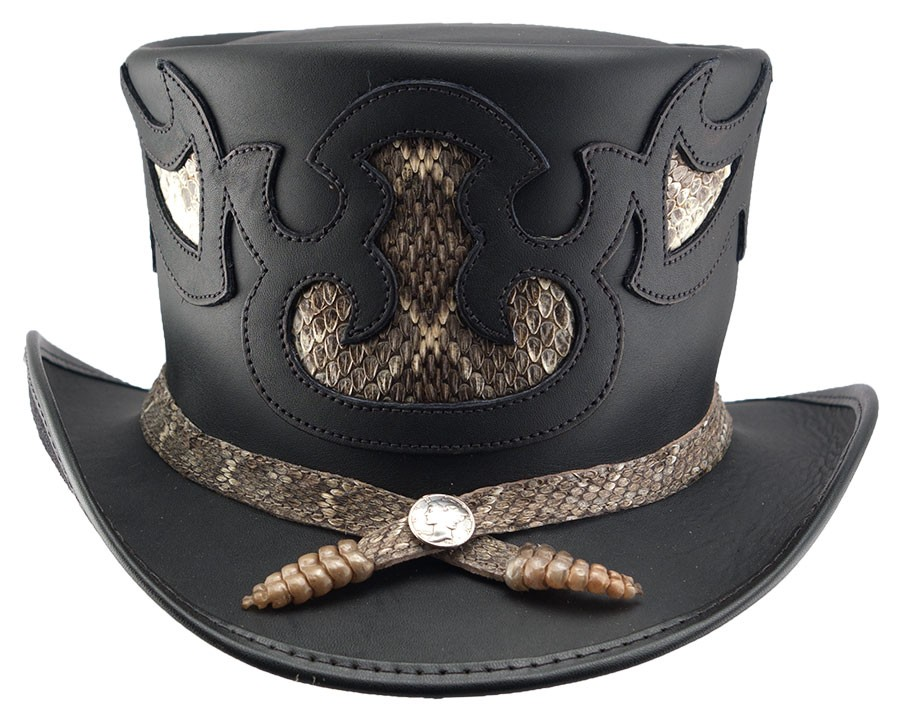 Rio Topper Leather Hat