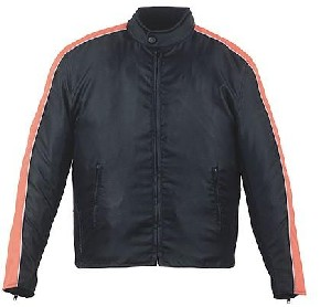 Black and Orange Nylon Jacket