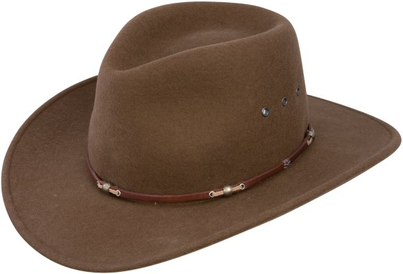 Stetson Wildwood Felt Hat Acorn
