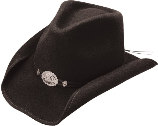 Stetson Hollywood Drive Felt Hat Black