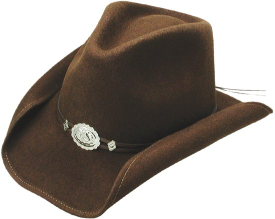 Stetson Hollywood Drive Felt Hat Brown